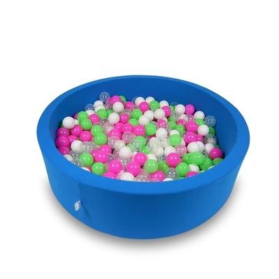 Сухой бассейн для детской комнаты 115x30cm + мяч 400