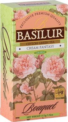 ??? зеленый Basilur Cream Fantasy 25 пакетиков