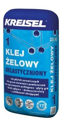 Клей ГЕЛЕВЫЙ 1 для плиткой, 25 кг, - KREISEL