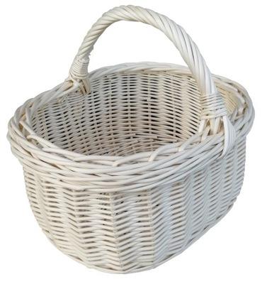 Корзина плетеный ПОКУПКАМИ Грибы (бежевый ) 40 см