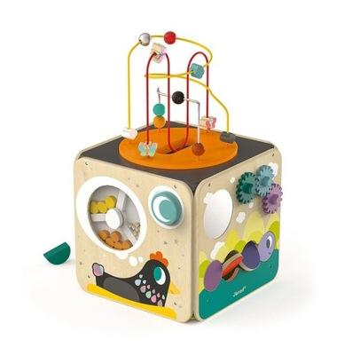 JANOD multi-function vzdelávacie kocka s slučky