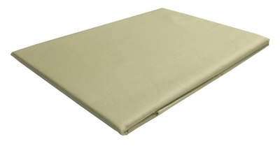 Posteľ list bavlna satén béžová 240x260