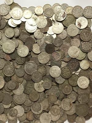 комплект 50 штук . серебряных монет - mik