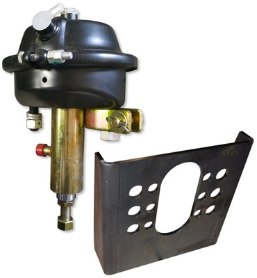 Рабочий цилиндр гидравлически пневматический BCDT +Закрепление