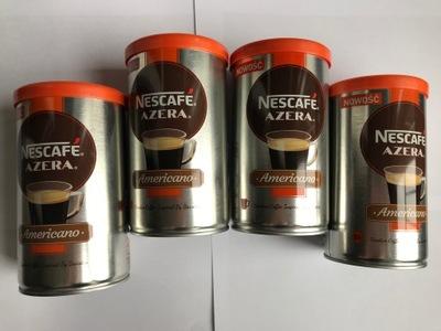 Nescafe AZERA Americano кофе растворимая 4x100g