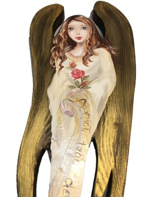 ИЗОБРАЖЕНИЕ ?????????? Большой ангел Hand Made ??????????