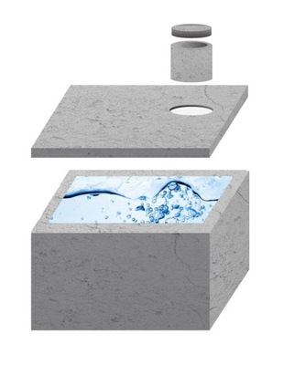танки бетонные на септик септик 4 5 6 10 12m3