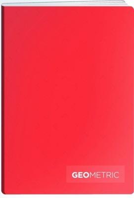 TETIS zeszyt szkolny GEO A5 60k kratka czerwony