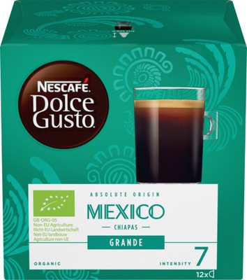 капсулы Nescafe Dolce Gusto Grande Mexico 12 штук