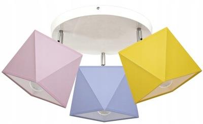 SUPER stropné Svietidlo DIAMENCIK 3 farieb na výber