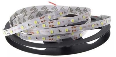 2835 лента 300 LED 1м Белый теплый или холодный 4 ,8Wm