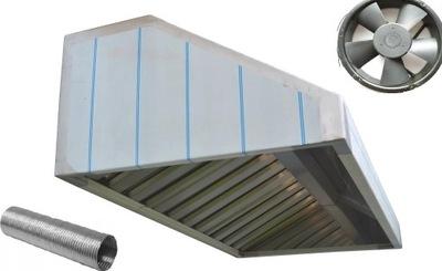 вытяжка Гастрономический 100x70x40 Фильтры WentylatorXXL