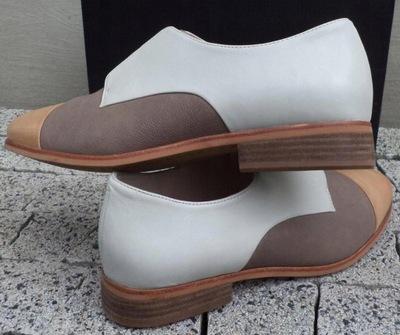 ALDO sandały PIĘTA SUWAK WOLNE PALCE szersza stopa