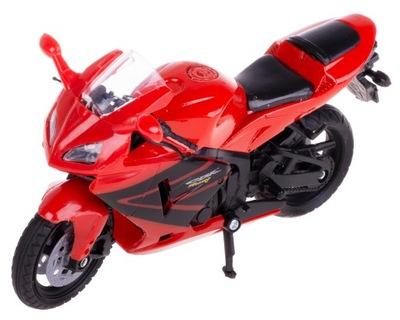 Honda CBR600RR МОТОЦИКЛ ГОНЩИК МОДЕЛЬ 1 :18 красн