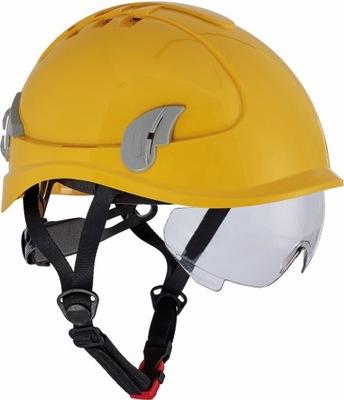 Шлем защитный Шлем строительный ALPINWORKER Желтый