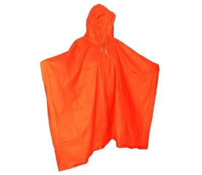 Плащ Пончо плащи Оранжевый ПВХ
