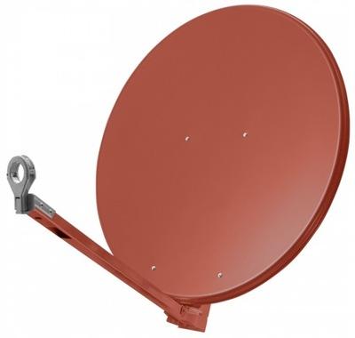 Antena Satelitarna Televes Aluminium 90cm Czerwona