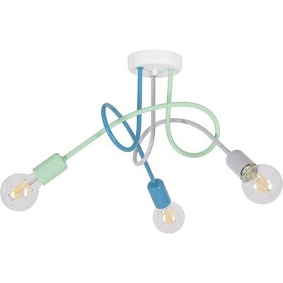 stropné svietidlo luster PASTI 3 LED 7W G80 Bublina