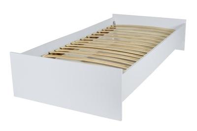 Łóżko pojedyncze młodzieżowe KARO 190x90 + stelaż