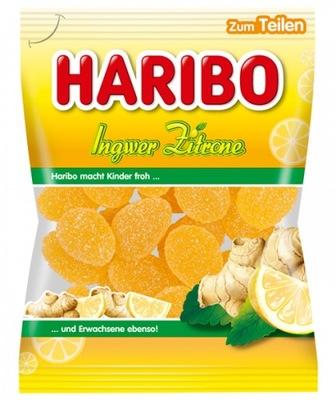 Haribo Ingwer Zitrone Имбирь лимон острое 175g