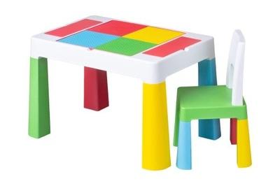 Tabuľka vysokú Stoličku 3 v 1 MultiFun Tega Baby Multicolor