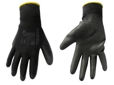 перчатки защитные GEKO размер 8 черные