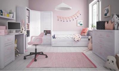 Мебель ??? девочки кровать 90х200 см шкаф Лило