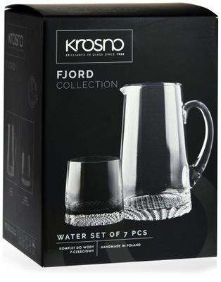 Fjord STROJ nastavený na vodu 6+1 decanter okuliare