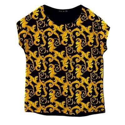 Świetna bluzka modne wzory r.XL ORNAMENTY rozmiary