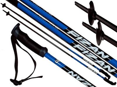 Kije kijki narciarskie FIZAN INSPIRE 125 cm blue