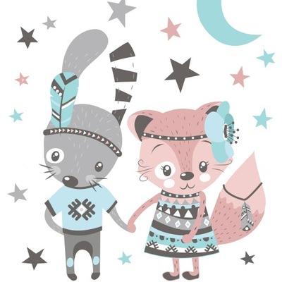 Steny odtlačkový BRATIA a sestry králik Fox hviezda
