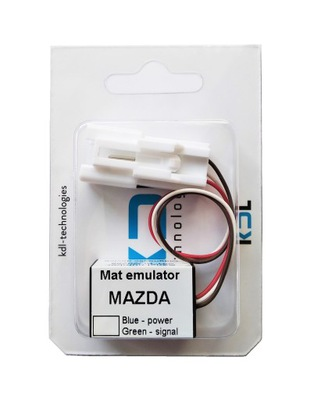 Эмулятор коврики MAZDA 2 3 5 6 8 Demio с LED-МОДУЛЬ