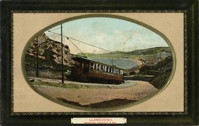 LLANDUDNO. MOUNTAIN ТРАМВАЙ & BAY. ОК. 1910