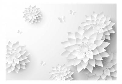 foto Tapety kvety - pre obývacia izba, spálňa 3d 350x245
