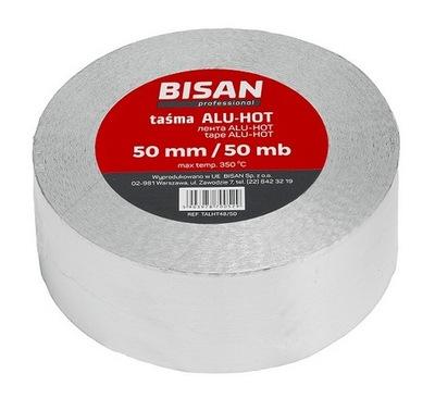 BISAN hliníkové pásky, ALU-HOT-50 mm/50 MB
