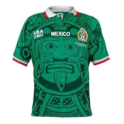 Koszulka Reprezentacji Meksyku Mundial1998 R Xxl 8217404180 Oficjalne Archiwum Allegro