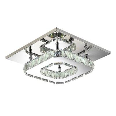 SVIETIDLO CRYSTAL STROPNÉ svietidlo NÁSTENNÉ svietidlo LED PANEL svetlo 20x20cm