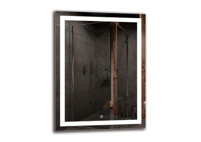 зеркало для ванной комнаты 60x80 с подсветкой LED M1ZD-47
