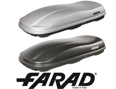FARAD PACK МАКСИМАЛЬНЫЙ БАГАЖНИК MAX90KG ABS MARLIN 680L