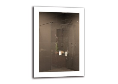 зеркало ванной LED 50х70 см | премиум M1ZP-50