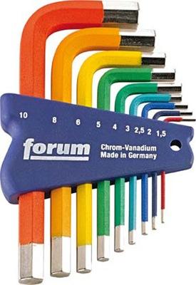 Fórum Kľúče veľké imbusy 1,5-10 Vyrobené v Nemecku