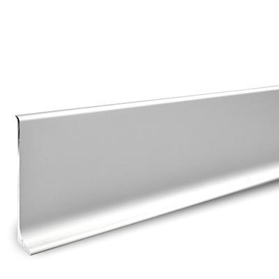 Планка напольного типа алюминиевая металлический Цоколь 7cm