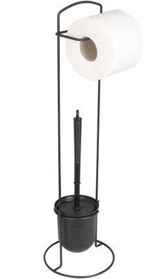 Стенд бумага туалетная лоток + щетка туалет