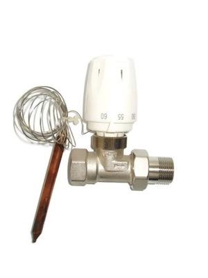 Termostatický ventil 1/2 + kapilárna hlavica