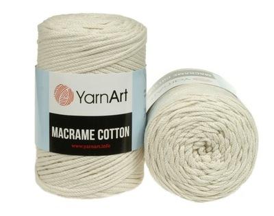 Macrame Cotton, makrama sznurek pleciony kol. 752