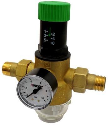 Reduktor ciśnienia wody 3/4 HERZ z Filtrem