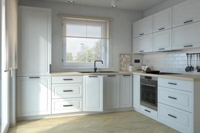 Мебель Кухонные лакированные Шкафы Кухня РОМА