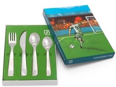 Sada 4 Ks Príbory futbal pre dieťa