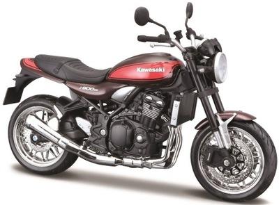 KAWASAKI Z900RS motocykl red model 1:12 Maisto