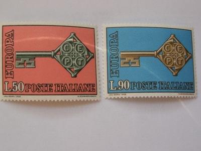 Италия - Europa CEPT 1968 - Мне. 1272-73 **